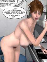 Amazing pics of 3d girlfriends getting naked while in private. tags: big boobs, hairy pussy, naked girls.